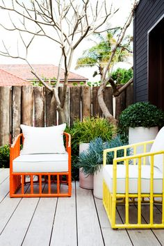 Robert Plumb outdoor chairs | Adore Home magazine - Blog
