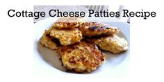 Ok, sounds really weird - but they are SO good. And pretty healthy, if you use non-fat cottage cheese. Both kids and picky, meat-loving husband all loved!