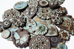 Assorted Stoneware Beads