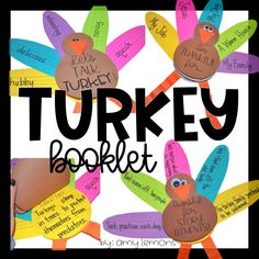 Turkey Booklet:  Can