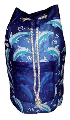 Dolphin Fashion Print Duffel Backpack for Beach & Water Sports (Blue) GG http://www.amazon.com/dp/B00QZKG7XS/ref=cm_sw_r_pi_dp_nuhMub0343EMC