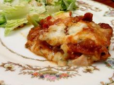 Double Loaded Veggie Lasagna #cheese #broccoli #low-calorie #justapinchrecipes
