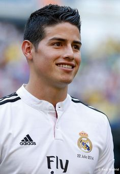 James David Rodríguez Rubio (born 12 July 1991), known as James Rodríguez, is a Colombian professional footballer who plays for Spanish club Real Madrid and the Colombia national team, as an attacking midfielder or winger. James is commonly ranked as one of the best young players in the world. He is praised for his technique, vision and playmaking skills, and has often been referred to as the successor to his compatriot Carlos Valderrama.