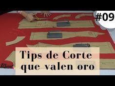 #09 😎✂ Elige la tela correcta y aprende técnicas de corte 🎁Descarga un Puntímetro GRATIS - YouTube Sewing Hacks, Sewing Tips, Couture, Diy Clothes, Pattern Design, Singer, Learning, Instagram, Victoria