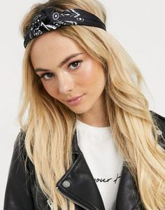 Browse online for the newest ASOS DESIGN knot headband in black bandana print styles. Shop easier with ASOS' multiple payments and return options (Ts&Cs apply). Asos, Hurley, Bandana Print, Knot Headband, Fashion Prints, Headpiece, Latest Trends, Design, Beauty