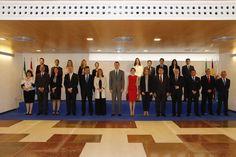 Los Reyes Felipe VI y Letizia inauguran la Primera Incubadora de Trnsferencia de Tecnología Aeroespacial en el pueblo de La Rinconada, Sevilla. 10-05-2016