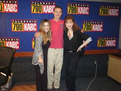 With Jillian Barberie and John Phillips.  #TheLuckySantangeloCookbook #ConfessionsOfaWildChild