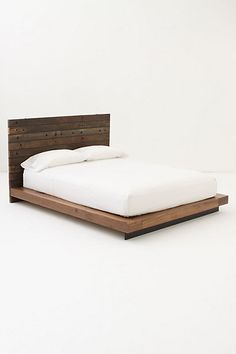 Trying to figure out how I could make this bed, instead of spending $3,000 at Anthropologie...... I bet I could do it!!