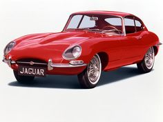 Jaguar E-Type, 1961-The Sexiest Looking Vehicle, Ever.