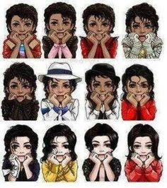 Michael Jackson throughout time. Forever a classic.