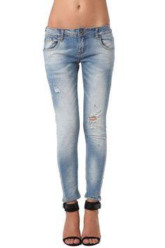 High Quality Jeans w/ Subtle Paint Splatter Design