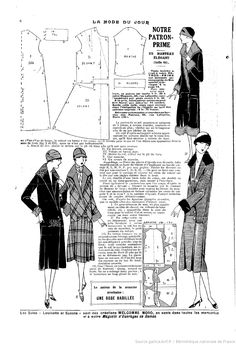La Mode du jour. [1925/10/08