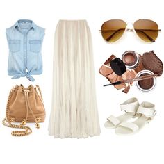 Pleats by timeandcouture on Polyvore