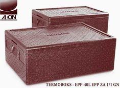 Termobox 40L od crnog stiropora sa ruckama