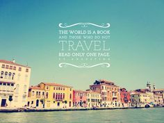 If you could read a new page, what page would it be? #travel