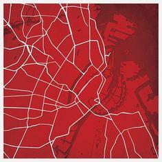 Copenhagen, Denmark Print now featured on Fab.