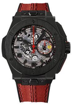 Hublot Big Bang Ferrari Ceramic Watch red Baselworld 2013 Preview: Hublot Big Bang Ferrari Watches