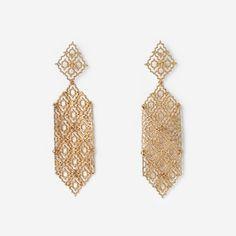 Royal Filigree Long Earring by ISHARYA