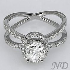 cushion cut ring oval - Google Search