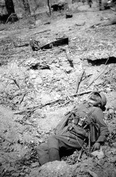 The dead German soldier  http://albumwar2.com/the-dead-german-soldier/