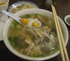 Early Sunday breakfast at Huong Que Chicken Noodle House / Pho Ga Huong Que Cafe - San Francisco Bay Area - Chowhound
