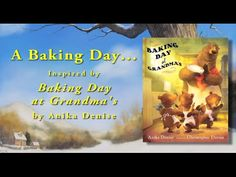 Baking Day at Grandma's Book Trailer