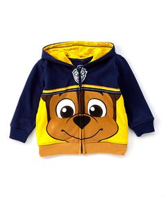 Love this Black & Yellow PAW Patrol Chase Zip-Up Hoodie - Toddler & Boys on #zulily! #zulilyfinds