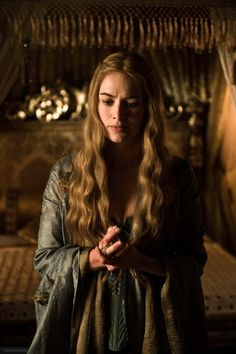 Lena Headey as Cersei Lannister in Game of Thrones (TV Series, 2012).