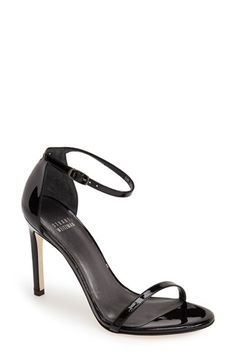 Stuart Weitzman 'Nudistsong' Ankle Strap Sandal (Women) available at #Nordstrom