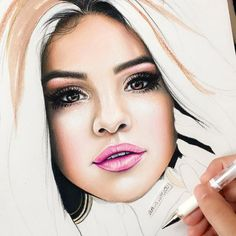 WANT A FREE FEATURE ?   CLICK LINK IN MY PROFILE !!!    Tag  #LADYTEREZIE   Repost from @art_is_life100   Hope everyone had a Happy Thanksgiving So here's a #wip of @selenagomez  This is basically my first colored pencil portrait of a person so I messed up in a few places...should I finish the drawing Thanks everyone for looking commenting and following #selenagomez #singer  #artists_feat #young_artists_help #art_spotlight #just_arts_help #worldofnerdart #help___artist #arts_hype #arrtposts…