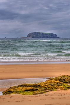 Glashedy Island is a rock island approximately 1.6 kilometres (1 mi) from Pollan Bay in Ballyliffin, and about 7 kilometres (4 mi) south of Malin Head, Donegal, Ireland.
