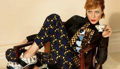 ミュウミュウ2012年秋冬広告キャンペーンに、女優のクロエ・セヴィニーがふたたび登場! | Web Magazine OPENERS - FASHION NEWS WOMEN