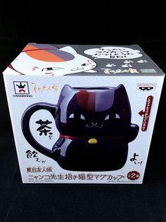Natsume's Book of Friends Beckoning Cat type Mug Black Nyanko-sensei New