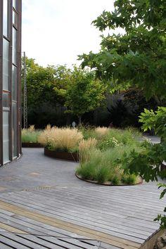 KU science arkitekt Lundgaard & Tranberg - Klinker : Klinker Outdoor Yes, a well-designed front yard Contemporary Garden Design, Modern Landscape Design, Modern Landscaping, Backyard Landscaping, Landscape Architecture, Landscaping Ideas, Modern Contemporary, Coastal Gardens, Australian Garden