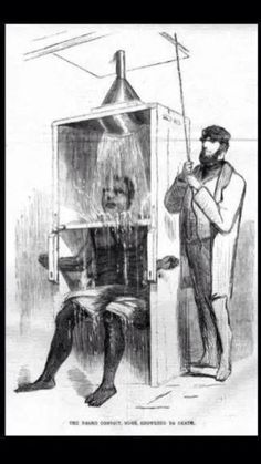 "The original ice water challenge. This was a torture tactic used by slave masters, in order to control and break strong, Black males or ""bucks""."