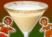 NEW - Gingerbread Martini, on www.pocketcocktails.com
