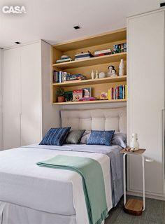 Essa seleção de quartos reúne grandes exemplos de ambientes compactos cheios de design, estilo e decór funcional ao mesmo tempo