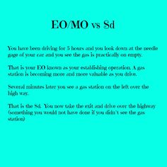 EO.MO vs Sd - www.appliedbehavioranalysis.com   - repinned by @PediaStaff – Please Visit ht.ly/63sNtfor all our ped therapy, school & special ed pins
