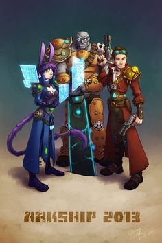 Wildstar fan art - Wildstar - Arkship 2013 Exiles by evion.deviantart.com on @deviantART