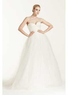Truly Zac Posen Wedding Dress with Sequin Detail 6f28388e3dc0