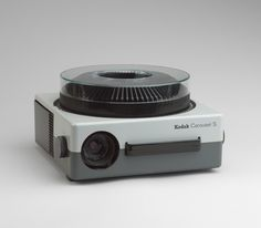 Hans Gugelot and Reinhold Häcker. Carousel-S Slide Projector. 1963 for Kodak *Lecture: Ulm School of Design (HfG)*