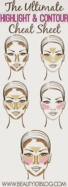 Make up and skin care is generally regarded as women's forte. Men seldom indulge in 'Make up and skin care'. Many men do care for their skin but make up is really alien to most men. Treating make up and skin care as different to Make-up-tipps Und Tricks, Beauty Make Up, Hair Beauty, Beauty Room, Make Up Gesicht, The Face, Contouring And Highlighting, Contour Face, Contouring Guide