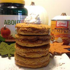 Extreme Pumpkin Protein Pancakes