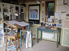 Peachy My Drawing Workspace At Home Google Search Home Retreat Study Largest Home Design Picture Inspirations Pitcheantrous