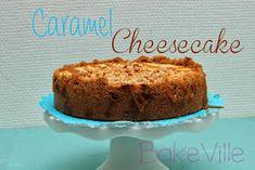 Bakeville: Kinuskijuustokakku Caramel Cheesecake, Banana Bread, Cupcakes, Sweets, Desserts, Food, Tailgate Desserts, Cupcake Cakes, Deserts