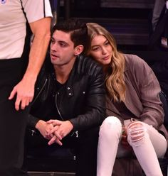 Pin for Later: Gigi Hadid Gets Cozy With Her BFF After Splitting From Joe Jonas