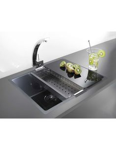 Cool Kitchen Sinksleek And Extraordinarily Functional Pleasing Cool Kitchen Sinks Decorating Inspiration