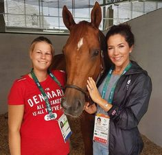 In the morning of August 3, 2016, Crown Princess Mary of Denmark met with Danish athletes before Rio de Janeiro 2016 Summer Olympics. In the afternoon the Princess met with members of the Danish Olympic Equestrian Team.