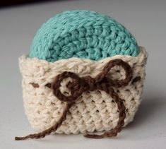 Crochet Face Scrubby Set Sea Mist and Cream  by CreateLoveRepeat on Etsy.com