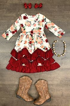 Cute Baby Girl Outfits, Cute Outfits For Kids, Toddler Girl Outfits, Toddler Girls, Baby Kids Clothes, Cute Little Girls, Her Style, Aunt Becky, Bow Shop